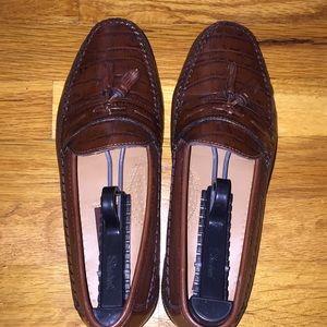 Florsheim men's brown loafers